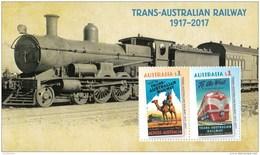 Australia 2017 Trans - Australian Railway Minisheet MNH - 2010-... Elizabeth II