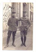 0-4000 HALLE / Saale, Kriegsgefangene Franz. Offiziere, KGF-Lager Merseburger Strasse, 1915, Photo-AK - Halle (Saale)