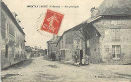 A-17.9408 : MONTLAURENT. RUE PRINCIPALE - France