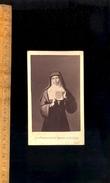 Photographie CDV Photo Religieuse Image Pieuse : Marguerite MARIE ALACOQUE / Ed TILLON Clermont Ferrand - Persone Anonimi