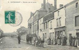 A-17.9415 : AUTRECOURT. GRANDE RUE ET MAIRIE - France
