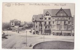 Le Zoute: Hotel Nobus Patisserie: Place Léopold. - Knokke
