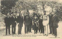 A-17.9417 : LE CHESNE. FETE COMMEMORATIVE DE L'INAUGURATION DU MONUMENT  AUX MORTS  LE 2 OCT 1921 - France
