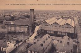 ST-NAZAIRE-PENHOET- VUE GENERALE - AU PREMIER PLAN LES FONDERIES DE SAINT-NAZAIRE ET L'USINE ELECTRIQUE - Saint Nazaire