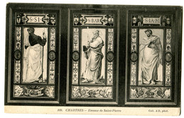 CPA 28 CHARTRES Cathédrale - Emaux De Saint Pierre - Chartres