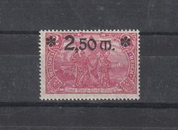 Deutschland Deutsches Reich ** 118 Genius Mit Fackel Mit Aufdruck   Katalog 42,00 - Unused Stamps