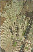 X463 New York City - Saint Patrick's Cathedral / Viaggiata 1973 - Manhattan