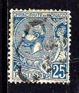 MONACO 25° 25c Bleu Prince Albert 1er (10% De La Cote + 0,15) - Monaco