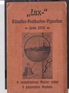 B25 /  LUX Künstler Postkarten Vignetten / Japan Um 1900  !! Jugendstil - Cartes Postales