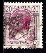 MONACO 78° 20c Lilas Prince LouisII (10% De La Cote + 0,15) - Monaco