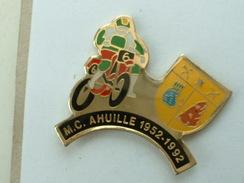 PIN'S MOTO - M.C AHUILLE 1952 / 1992 - Motorbikes