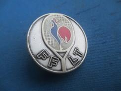 Médaille Sport/Fédération Française De Tennis/FFT /Coq Tricolore Sur Raquette/Bronze Doré /Beraudy/Vers1970-1980 SPO250 - Tennis