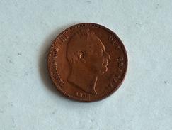 UK 1 FARTHING 1836 ONE GRANDE BRETAGNE - B. 1 Farthing