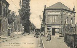 A-17.9441 : HAUTMONT. RUE VICTOR-HUGO. A LA CLOCHE D'OR. TEINTURE ET NETTOYAGE. TEINTURERIE. BLANCHISSERIE. - Autres Communes