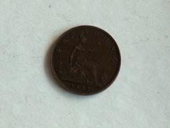 UK 1 FARTHING 1885 ONE GRANDE BRETAGNE - B. 1 Farthing