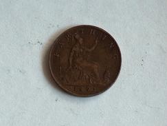 UK 1 FARTHING 1893 ONE GRANDE BRETAGNE - B. 1 Farthing