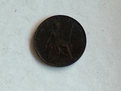 UK 1 FARTHING 1897 ONE GRANDE BRETAGNE - B. 1 Farthing