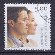 Greenland 2004 Mi. 416   5.00 Kr Hochzeit Kronprinz Frederik & Mary Donalson Royal Wedding - Usati