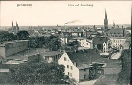 Ansichtskarte Bromberg Bydgoszcz Blick Auf Die Häuser Der Stadt 1906  - Poland