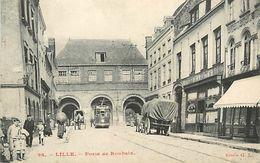 A-17.9476 : LILLE. PORTE DE ROUBAIX. TRAMWAY. - Lille