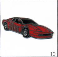 Pin's Automobile - Ferrari Testarossa (1984). Non Estampillé. EGF. T540-10 - Ferrari