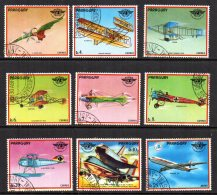 Paraguay - 1979 - History Of Aviation - Used/CTO - Paraguay