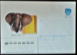 URSS, RUSSIE,  WWF, ELEPHANT, Entier Postal Emis En 1988  Neuf - Brieven En Documenten