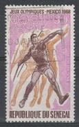 Senegal, Summer Olympics, Mexico, 1968, VFU - Senegal (1960-...)