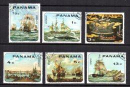 Panama - 1968 - Ship Paintings - Used/CTO - Panama