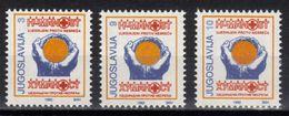 Yugoslavia,Red Cross 1992.,MNH - 1992-2003 République Fédérale De Yougoslavie