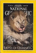 National Geographic Vol. 186, No. 2, August 1994 - Travel/ Exploration