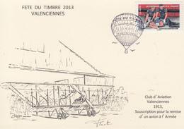 Carte   Locale    JOURNEE  Du  TIMBRE    VALENCIENNES   2013 - Journée Du Timbre