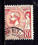 MONACO 23° 10c Rouge Prince Albert 1er (10% De La Cote + 0,15) - Monaco