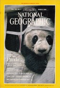 National Geographic Magazine Vol. 169, No. 3, March 1986 - Travel/ Exploration