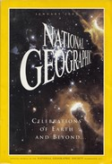 National Geographic Magazine JANUARY 2000 - Travel/ Exploration