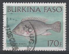 Burkina Faso, Fish, Nile Tilapia, 2001, VFU - Burkina Faso (1984-...)