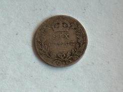 UK 6 PENCE 1895 SIX GRANDE BRETAGNE Silver Argent - 1816-1901 : Frappes XIX° S.