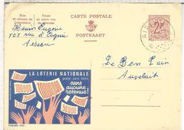 BELGICA PUBLIBEL ENTERO POSTAL 1923 LOTTERY LOTERIA LOTERIE - Juegos