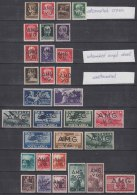 Italy Trieste, Venezia Giulia A.M.G.-V.G. 1945/1946/1947, Virtualy Complete Issue, Mint Hinged - 7. Triest