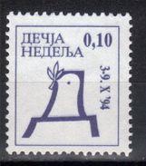 Yugoslavia,Children's Week 1994.,MNH - 1992-2003 République Fédérale De Yougoslavie