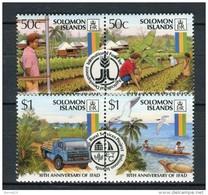 Solomon Islands 1988. Yvert 642-45 ** MNH. - Salomon (Iles 1978-...)