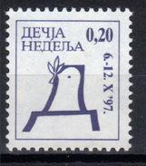 Yugoslavia,Children's Week 1997.,MNH - 1992-2003 République Fédérale De Yougoslavie