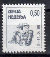 Yugoslavia,Children's Week 1998.,MNH - 1992-2003 République Fédérale De Yougoslavie