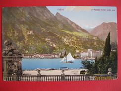Cartolina Riva, Palast Hotel Lido - Italia