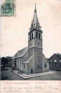 Cpa INGWILLER 67 Gruss Aus INGWEILER - Evang. Kirche - Eglise Protestante - France