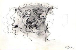 Illustrateur PIGNON - Carte Pétition Libération Vaclav Havel - Altre Illustrazioni