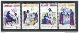 Samoa I Sisifo 1976. Yvert 380-83 ** MNH. - Samoa