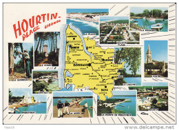 286. Hourtin, Plage (Gironde) X-stylo - Other Municipalities