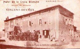 1er Salon De La Carte Postale - BARJAC 1978 - Sammlerbörsen & Sammlerausstellungen