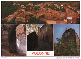 399. Volonne, Rue Centrale- La Tour Avec L&rsquo Horloge-Vue G?n?rale-Les Toits Du Village - Autres Communes
